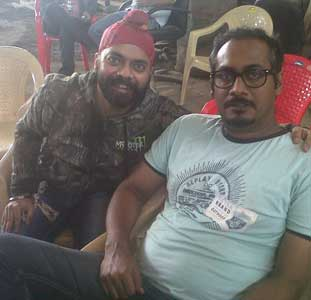 Besharam Working Stills